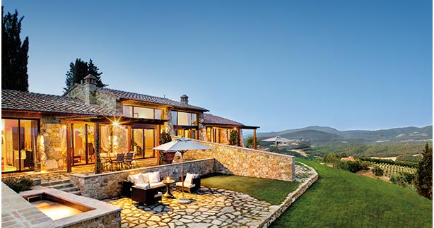 Luscious Resorts in Wine Country