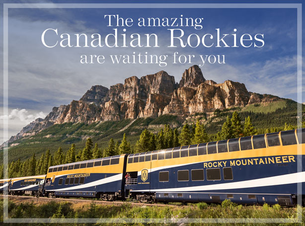 The amazing Canadian Rockies are waiting for you