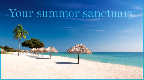 Your summer sanctuary