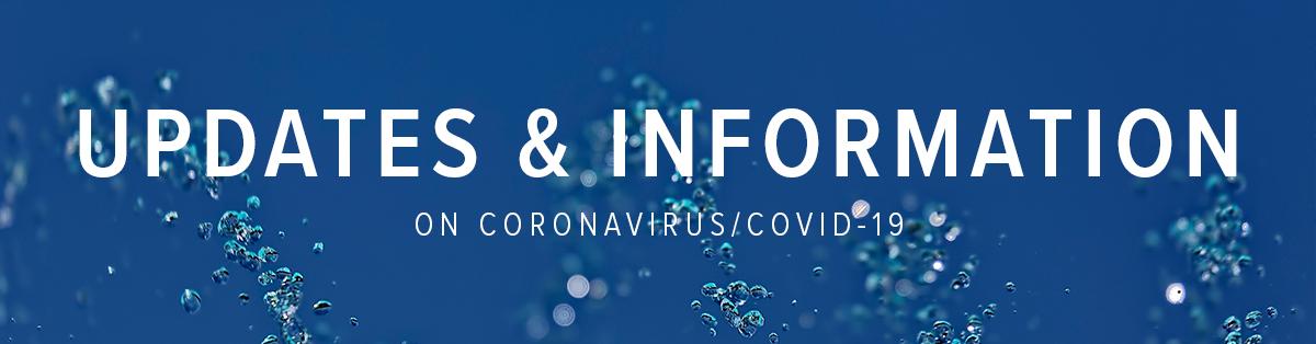Updates & Information on Coronavirus