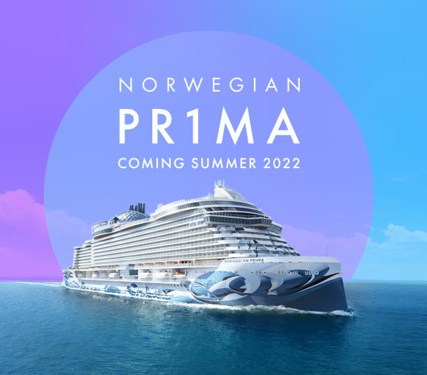 NORWEGIAN PR1MA   Coming Summer 2022