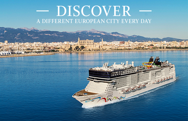 Discover a new european city every day