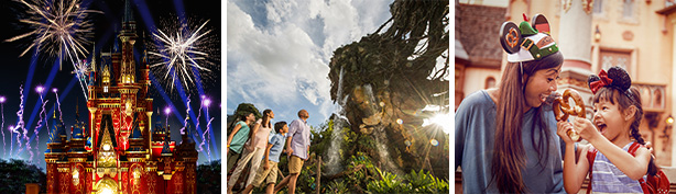 Fireworks Castle, Pandora - The World of Avatar, Disney Events