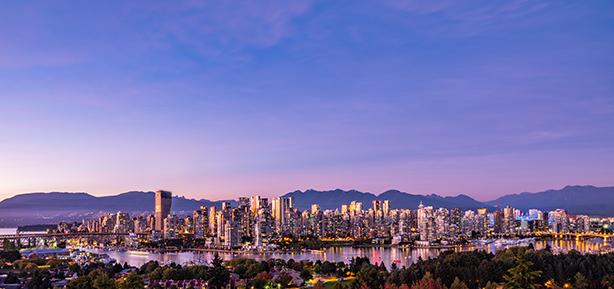 explore vancouver skyline