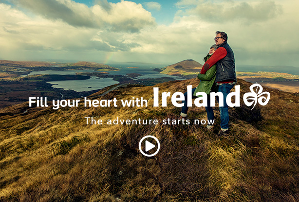 Fill your heart with Ireland, the adventure starts now