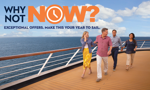 Holland America Line - Why Not Now?