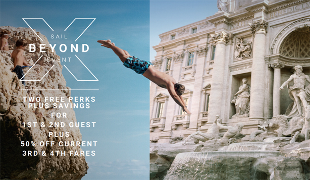 Celebrity Cruises - Sail Beyond Event Extended through Feb. 28th!