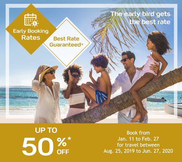 Take advantage of Club Med's Early Booking Rates!