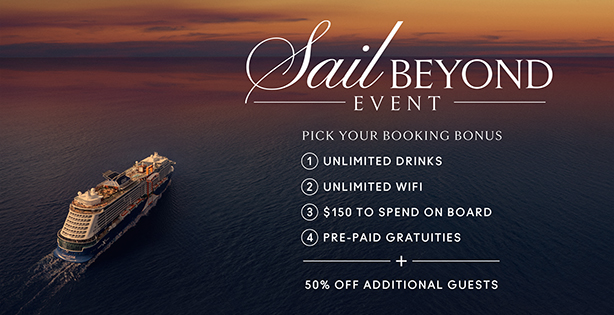 Celebrity Cruises - Sail Beyond Event