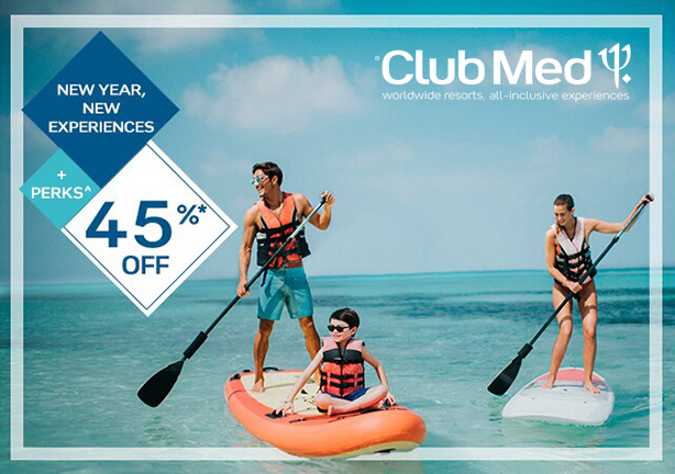 Club Med - New Year, New Experiences