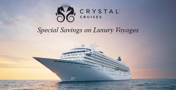 Crystal Cruises Limited-Time Luxury Cruise Sale!