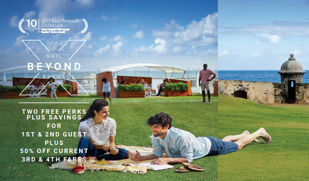 Celebrity Cruises - Sail Beyond Event Extended through Apr. 4th!