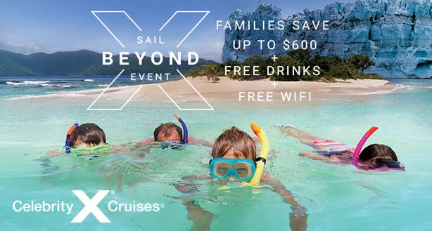 Celebrity Cruises - Sail Beyond Event