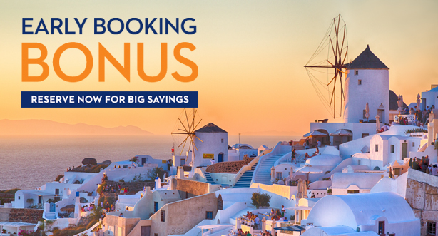 Holland America Line - Early Booking Bonus!