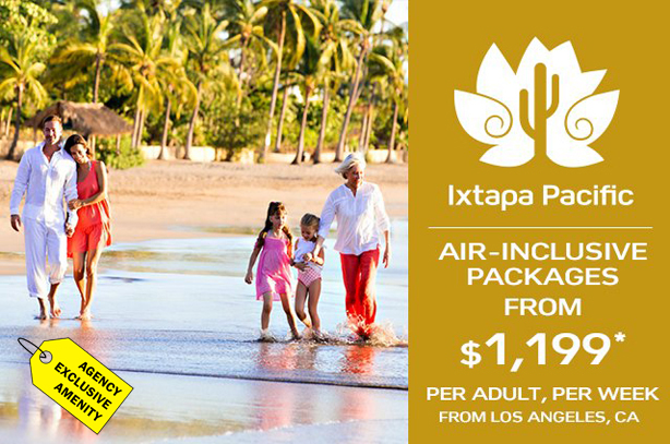 Club Med - Ixtapa Pacific Air-Inclusive Packages from $1,199 per adult, per week from LAX!