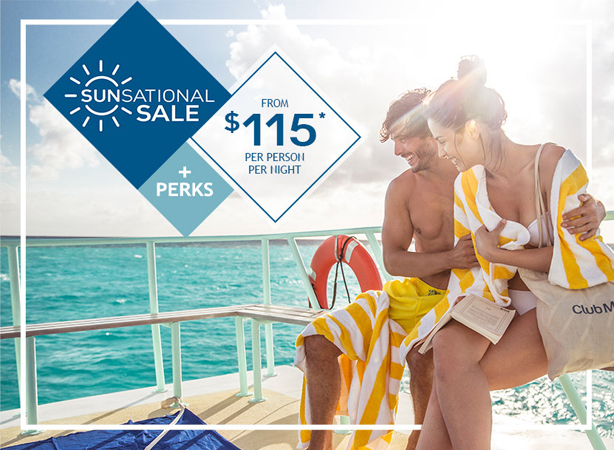 All-Inclusive Vacations from $115 per person, per night!