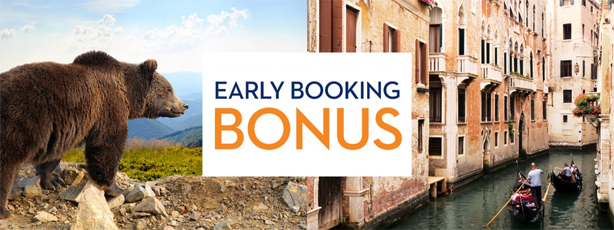 Book early and save on your Holland America Line cruise!