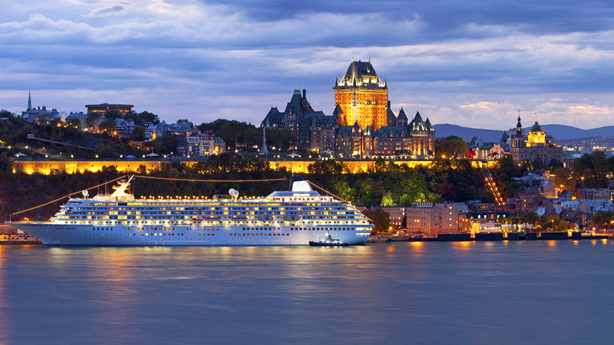 Cruise Canada & New England from NYC to Quebec!