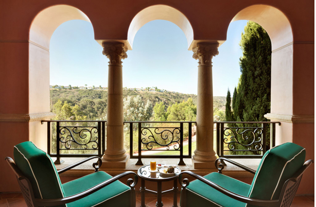 Beautiful views from your Deluxe Veranda Balcony