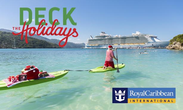 Deck the Holidays on a Royal Caribbean cruise!