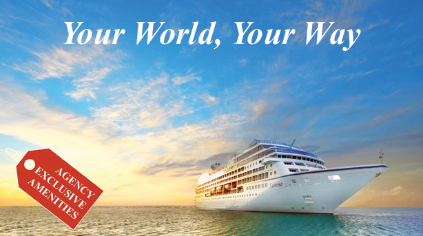 Discover your world, your way on Oceania Cruises' intimate & luxurious ships.
