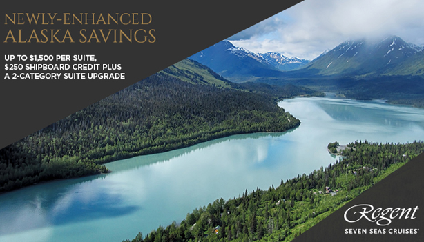 Every luxury included on your Regent Alaska cruise