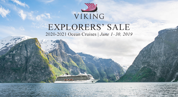 Viking Cruises Explorers' Sale