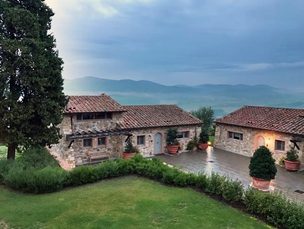 Hotel Castello di Casole in Siena, Italy!