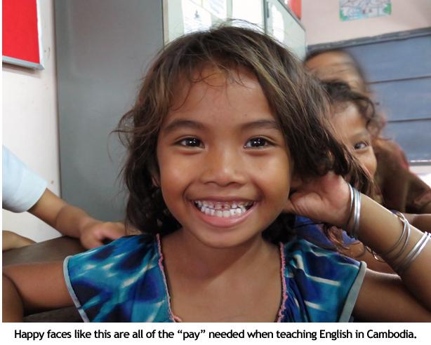 Happy face in Cambodia