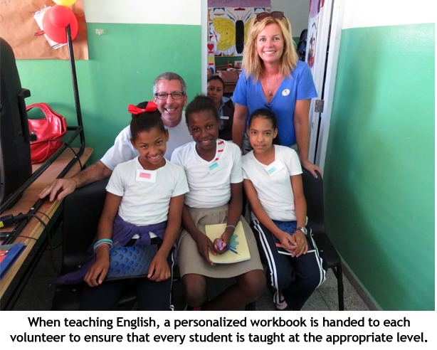 Teaching English to kids at school with personalized lessons
