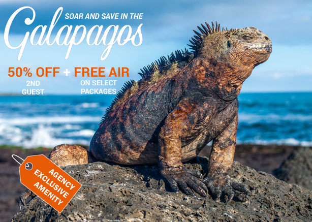 Save when you explore the Galapagos aboard Celebrity Flora