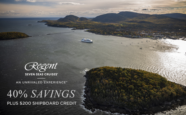 Regent Seven Seas Cruises - Save 40% for a Limited Time!