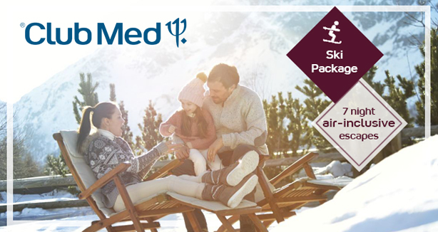 Club Med - All-Inclusive Ski Packages with Lift Tickets & Ski Lessons!