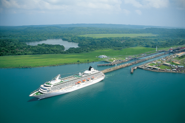 Cruise Panama Canal from Ft. Lauderdale to Los Angeles!