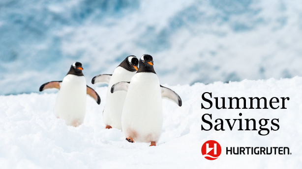 Hurtigruten's Big Summer Savings in Antarctica