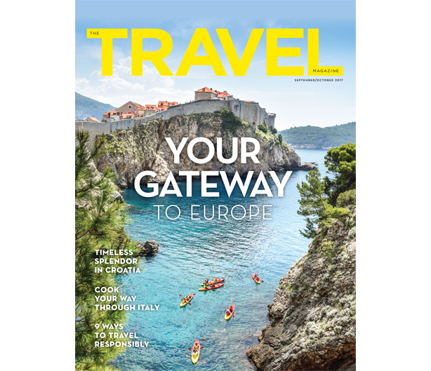 The Travel Magazine, 5th Edition - Sep/Oct 2017