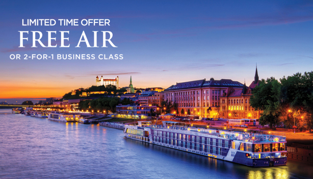 AmaWaterways Limited-Time Free Air Offer