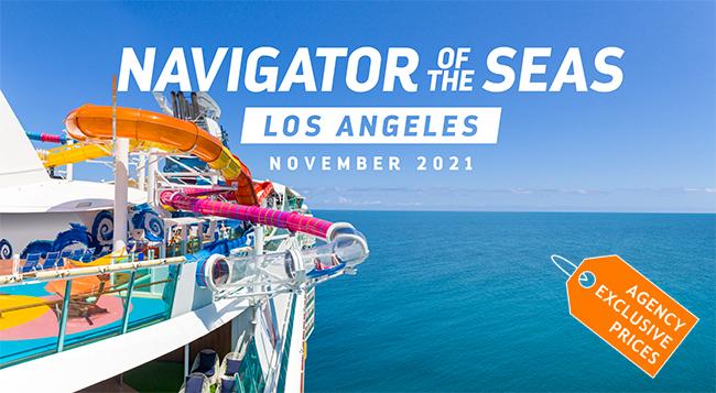 Sail roundtrip Los Angeles on Royal Caribbean!