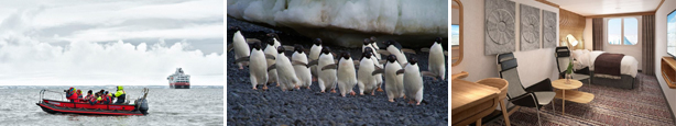 Experience the natural wonders of Antarctica