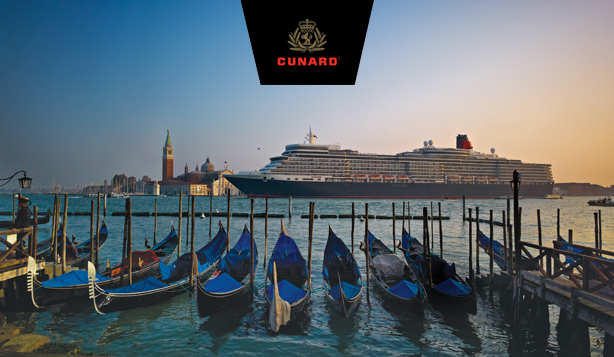 Take advantage of Cunard's Three for All offer!