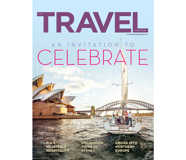 The Travel Magazine, 6th Edition - Nov/Dec 2017