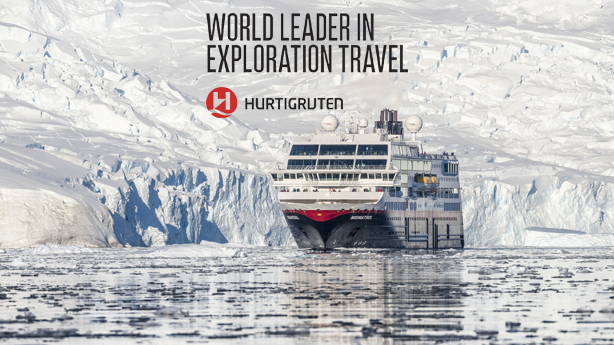 Explore Antarctica with Hurtigruten on Their Intimate Expedition Ships!