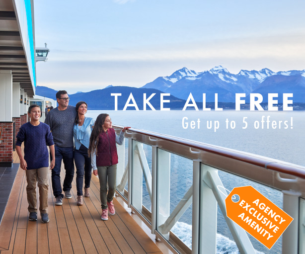 Get up to 5 Free Offers on Your Norwegian Cruise!