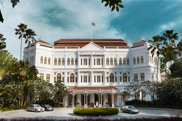A newly restored Raffles Singapore will open in the second half of 2018!