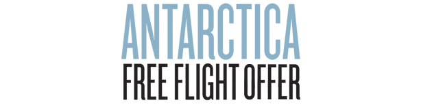 Antarctica Free Flight Offer