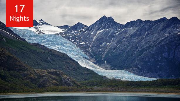 Chilean Fjords, Antarctica, Falklands