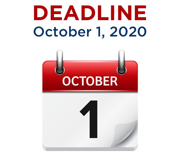 REAL ID Deadline October 1, 2020