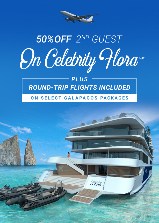 Cruise the Galapagos Islands on the new Celebrity Flora