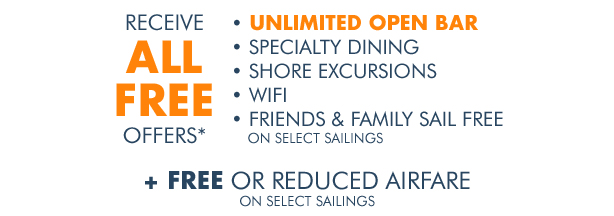 Receive ALL Free Offers for a Limited Time!