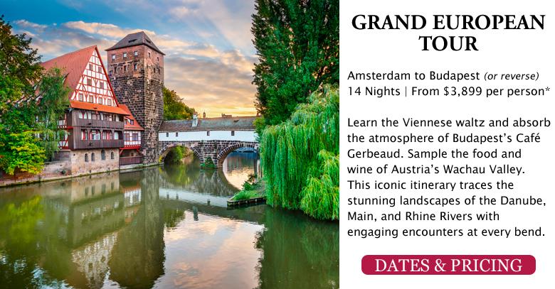 Grand European Tour - Amsterdam to Budapest